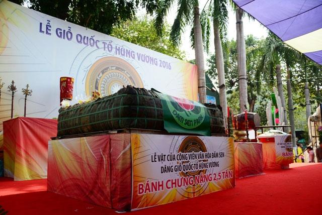 TPHCM: Dâng lễ vật khổng lồ lên vua Hùng ngày Giỗ Tổ - 2