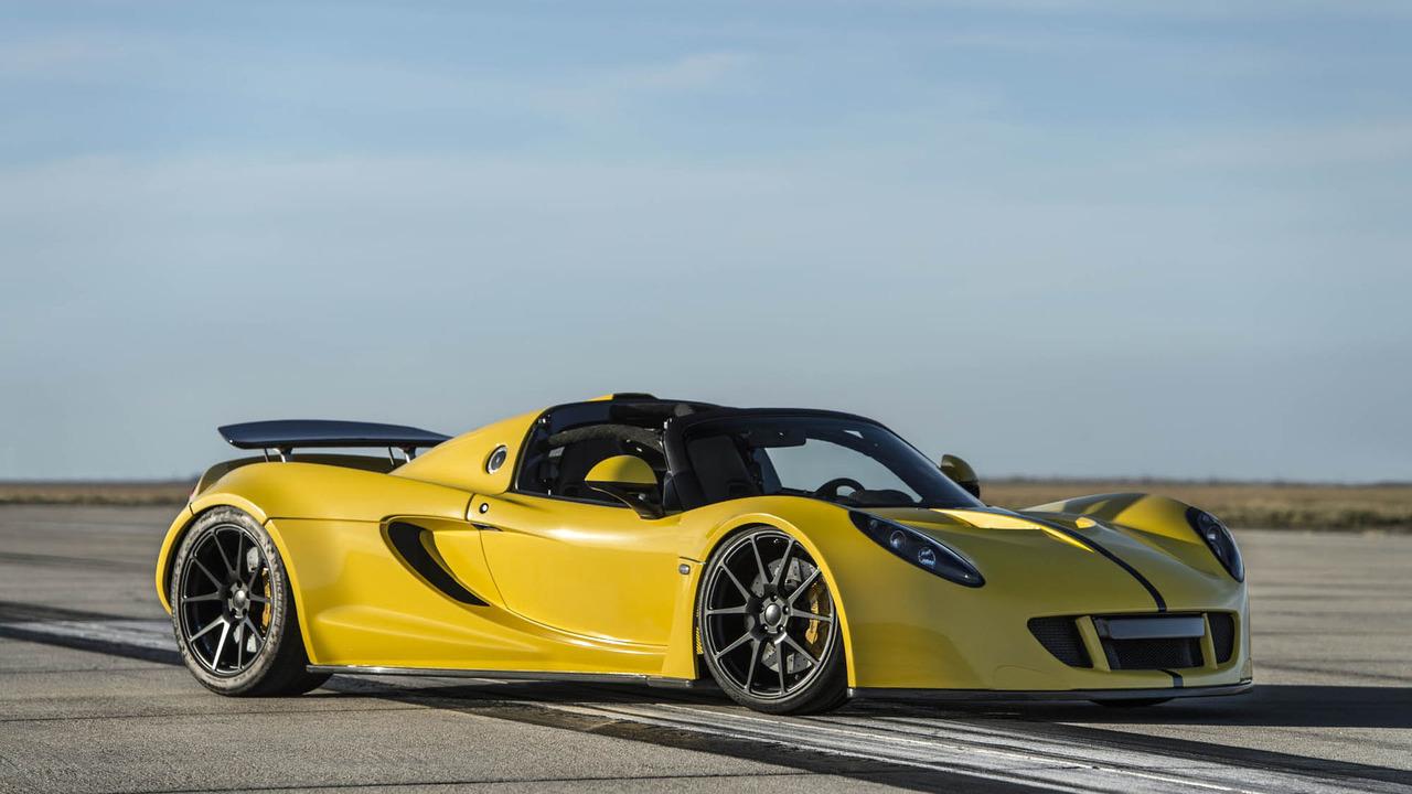 """Hennessey tung Venom GT Spyder """"siêu xe mui trần nhanh nhất thế giới"""" - 1"""
