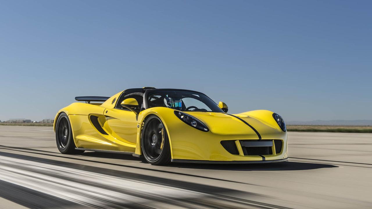 """Hennessey tung Venom GT Spyder """"siêu xe mui trần nhanh nhất thế giới"""" - 7"""
