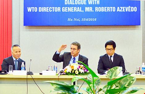 Tổng giám đốc WTO nói gì với doanh nghiệp Việt Nam ? - 1