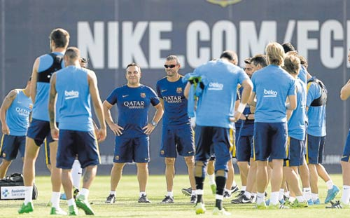 Vấn đề của Barca: Gọi khẩn cấp bác sĩ tâm lý - 1