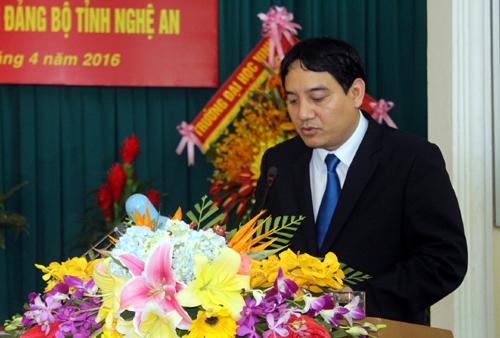 Nghệ An có tân Bí thư Tỉnh ủy 44 tuổi - 2