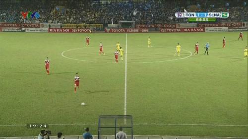 """Than Quảng Ninh - SLNA: """"Lột xác"""" trong hiệp 2 - 1"""