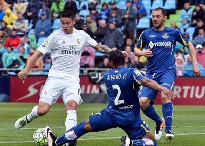 Chi tiết Getafe - Real Madrid: Ronaldo nhập tiệc muộn - 3
