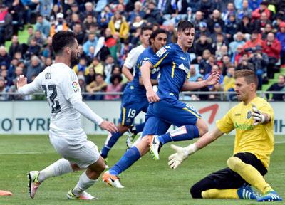 Chi tiết Getafe - Real Madrid: Ronaldo nhập tiệc muộn - 6