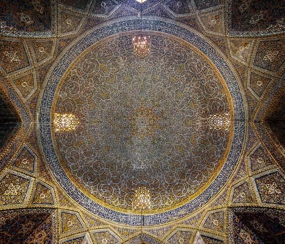 Ngắm mái vòm nhà thờ Hồi giáo cực kỳ ấn tượng - 5