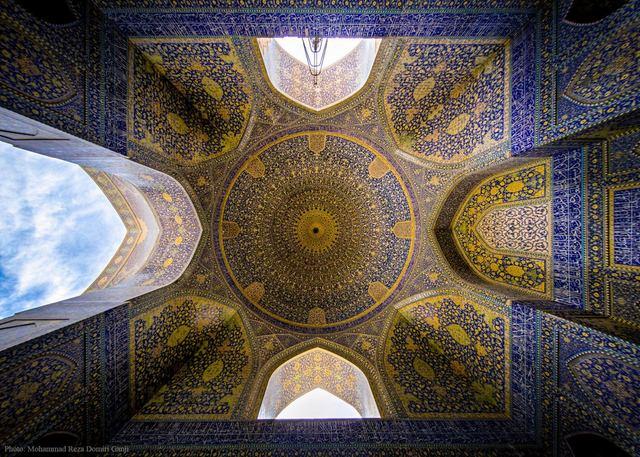 Ngắm mái vòm nhà thờ Hồi giáo cực kỳ ấn tượng - 10