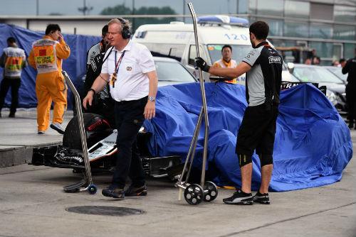 Phân hạng Chinese GP: Pole đầu tiên cho Rosberg - 4