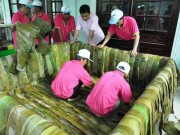 Video An ninh - Tốn bao nhiêu tiền làm bánh chưng 2,5 tấn cúng giỗ Tổ?