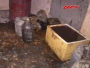 """Video An ninh - 1.000 lít dầu mỡ bẩn, mốc suýt """"chui"""" vào Hà Nội"""
