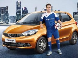 Siêu sao Messi chạy xe giá rẻ Tata Tiago