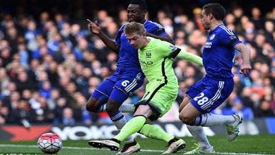 Chi tiết Chelsea - Man City: Aguero lập hat-trick (KT) - 9