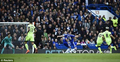 Chi tiết Chelsea - Man City: Aguero lập hat-trick (KT) - 6