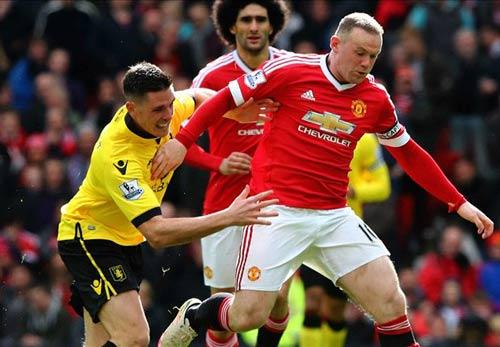 Rooney nổi cáu vì bị Van Gaal thay ra - 1