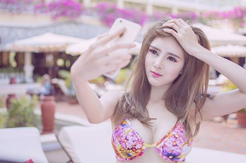 Hot girl Lilly Luta tung ảnh bikini gợi cảm chào hè - 8