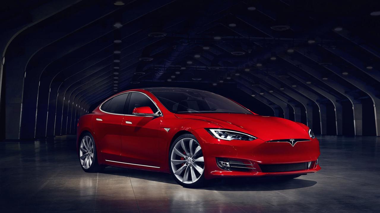 Chi tiết mẫu xe Tesla Model S bản nâng cấp - 1