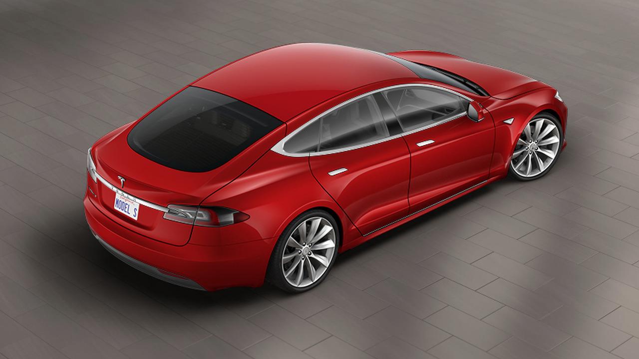 Chi tiết mẫu xe Tesla Model S bản nâng cấp - 2