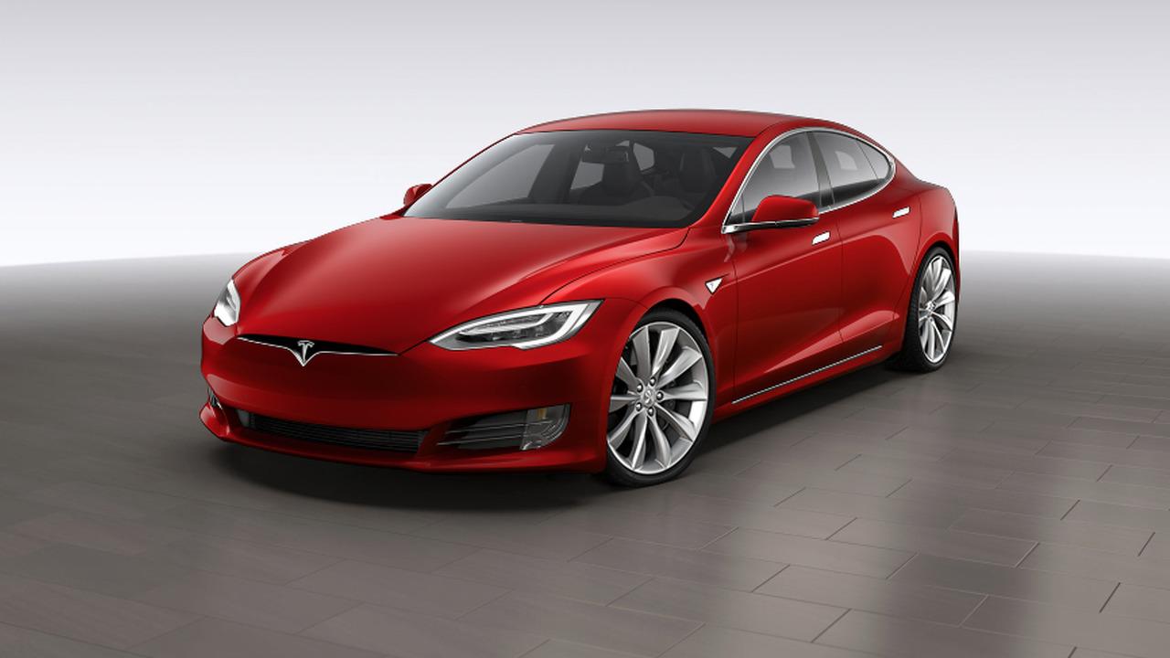 Chi tiết mẫu xe Tesla Model S bản nâng cấp - 3