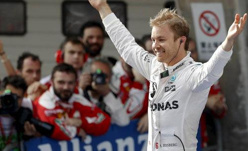 BXH Chinese GP: Rosberg bóng dáng huyền thoại - 1
