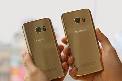 Chiêm ngưỡng Galaxy S7 và S7 Edge dát vàng 24K - 2