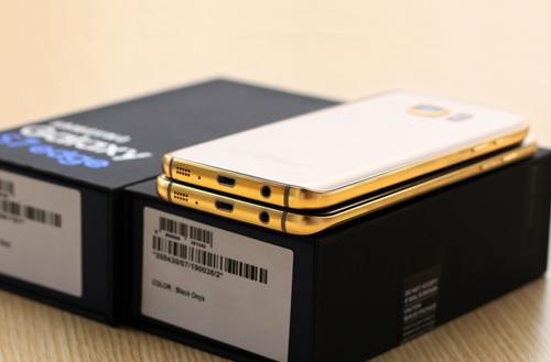 Chiêm ngưỡng Galaxy S7 và S7 Edge dát vàng 24K - 3