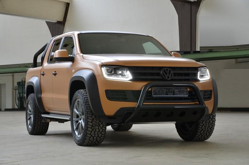 """VW Amarok V8 Passion Desert Edition cá tính, giá """"khùng"""" - 1"""