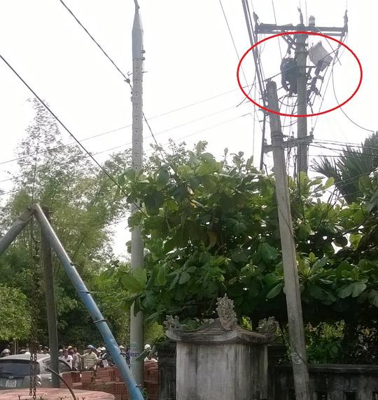 Hi hữu: Cúp điện nhưng 1 công nhân vẫn bị điện giật chết - 1