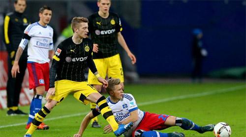 Dortmund - Hamburg: Những màn solo khó tin - 1