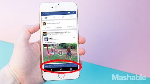 Facebook sắp thay đổi giao diện di động lớn nhất lịch sử - 1