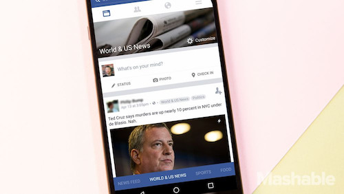 Facebook sắp thay đổi giao diện di động lớn nhất lịch sử - 2
