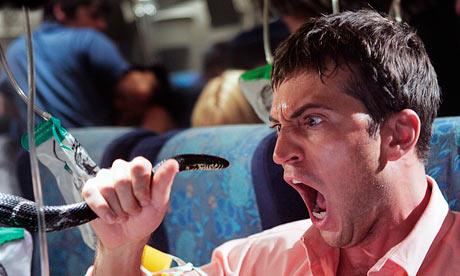 Rùng mình với cảnh phim hàng trăm rắn độc trên máy bay - 1