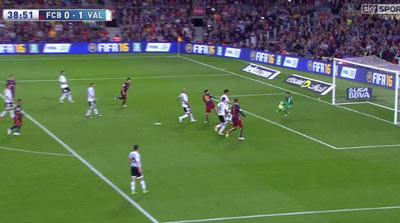 Chi tiết Barca – Valencia: Pique ôm đầu tiếc nuối (KT) - 7