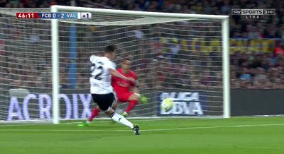 Chi tiết Barca – Valencia: Pique ôm đầu tiếc nuối (KT) - 8