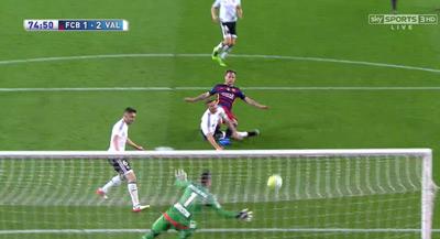 Chi tiết Barca – Valencia: Pique ôm đầu tiếc nuối (KT) - 11
