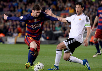 Chi tiết Barca – Valencia: Pique ôm đầu tiếc nuối (KT) - 10