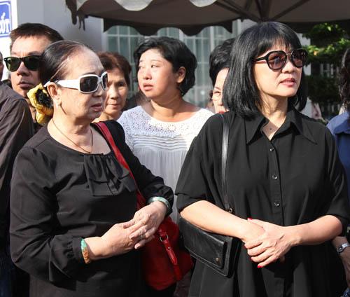 Dòng người tiếc thương tiễn đưa nhạc sỹ Nguyễn Ánh 9 - 10