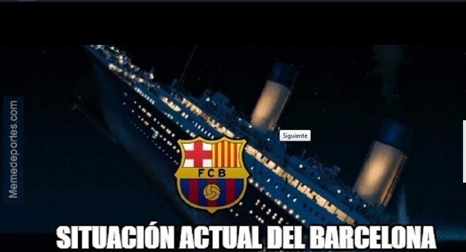 Barca tụt dốc như con tàu đắm Titanic - 1