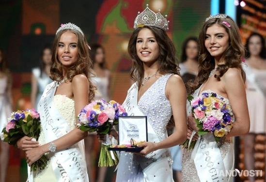 """""""Phát sốt"""" vì vẻ đẹp hoàn hảo của tân hoa hậu Nga - 1"""