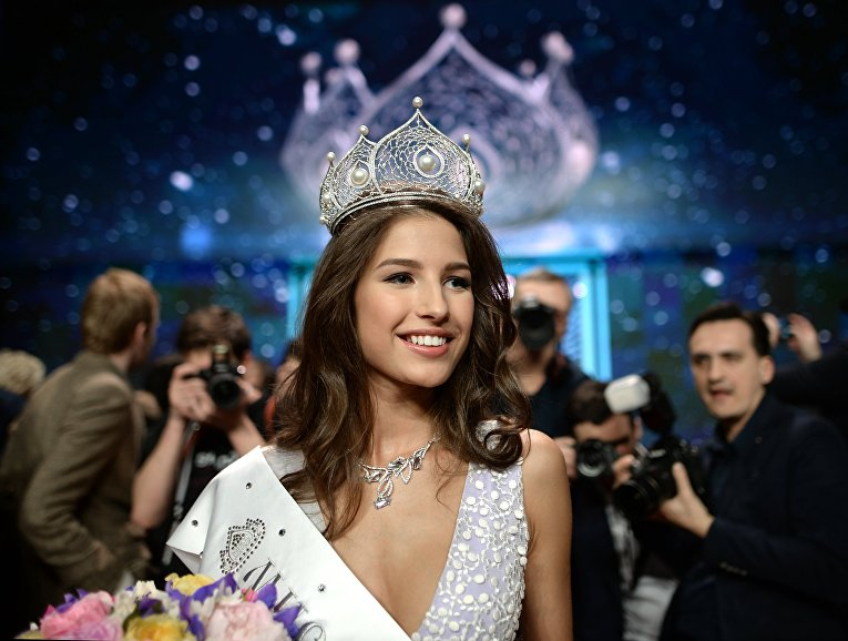 """""""Phát sốt"""" vì vẻ đẹp hoàn hảo của tân hoa hậu Nga - 3"""