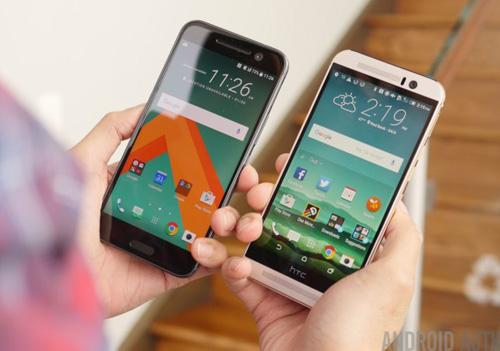 So sánh HTC 10 và HTC One M9 - 1