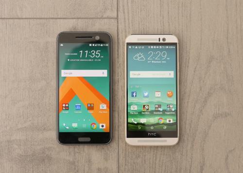 So sánh HTC 10 và HTC One M9 - 4