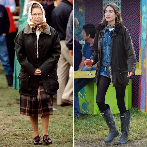 """Những kiểu mốt được nữ hoàng Anh 90 tuổi """"lăng xê"""" - 2"""