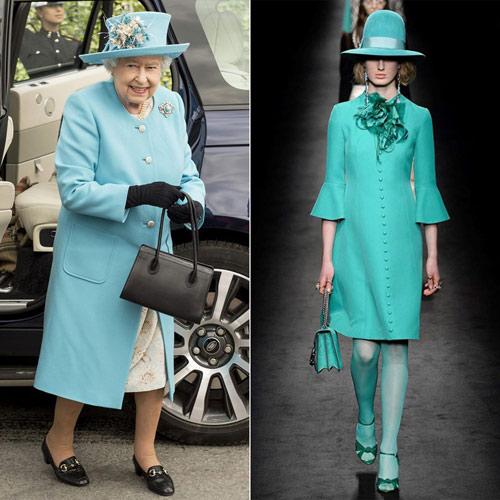 """Những kiểu mốt được nữ hoàng Anh 90 tuổi """"lăng xê"""" - 7"""