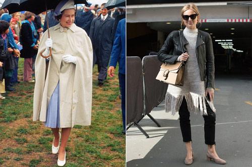 """Những kiểu mốt được nữ hoàng Anh 90 tuổi """"lăng xê"""" - 6"""