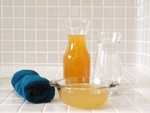 Giúp tóc sáng mượt đen đẹp với Baking Soda và giấm táo - 3