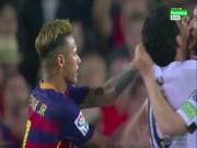 Bóng đá - Barca thua trận, Neymar tát cầu thủ Valencia