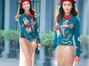 Váy hot nhất tuần: Chân váy gây hiểu lầm của Mâu Thủy