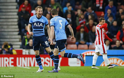 Chi tiết Stoke - Tottenham: Không thể ngăn cản (KT) - 6