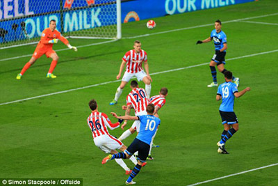 Chi tiết Stoke - Tottenham: Không thể ngăn cản (KT) - 4