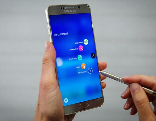 """Lộ ảnh chụp cấu hình """"khủng"""" của Samsung Galaxy Note 6 - 1"""